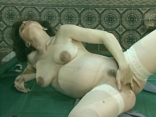 Extrem-Schwanger(1990s) Pregnant Sex
