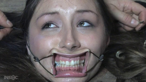 Tight tying, torment and domination for excited brunette hair part 1 Full HD 1080p