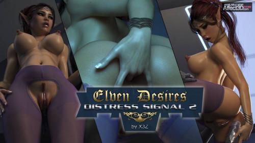 Elven Desires - Distress Signal 2 Comics
