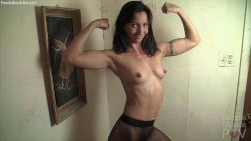 Wenona muscle Worship Female Muscle