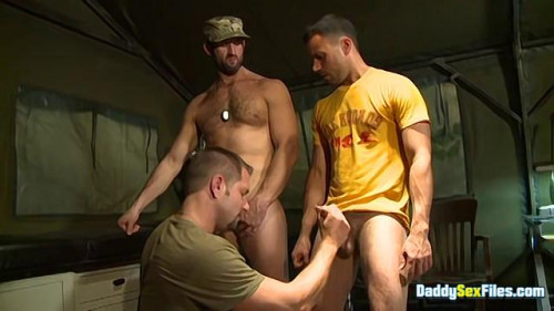 DaddySexFiles - Soldier CJ Has A Cum Problem