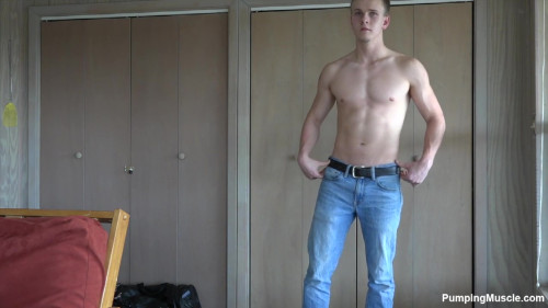Pumping Muscle Collin H Photo Shoot 1 HD Gay Unusual