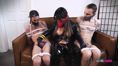 Astro Domina and Misty Stone Femdom and Strapon