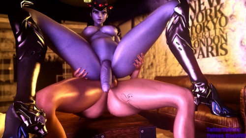 Widow Does Not Bite 3D Porno