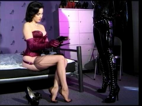 High on Heels Femdom and Strapon