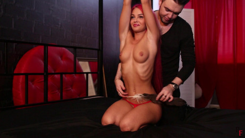 Bdsm Most Popular Alsus hawt stomach tickling with feather