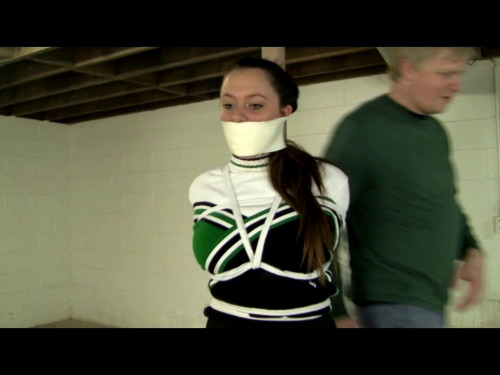 Leanna Cheerleader Snatched Off the Street BDSM