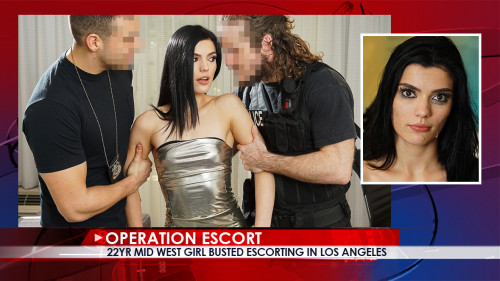OperationEscort -22Yr Mid West Girl Busted Escorting in Los Angeles