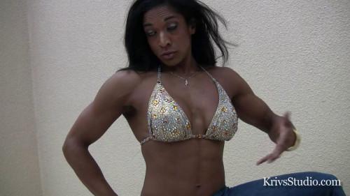 Nadya Castellas - Fitness Model Female Muscle