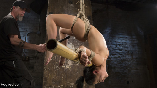 Feisty Latina is Captured in Grueling Bondage, Tormented, and Ass Fucked BDSM