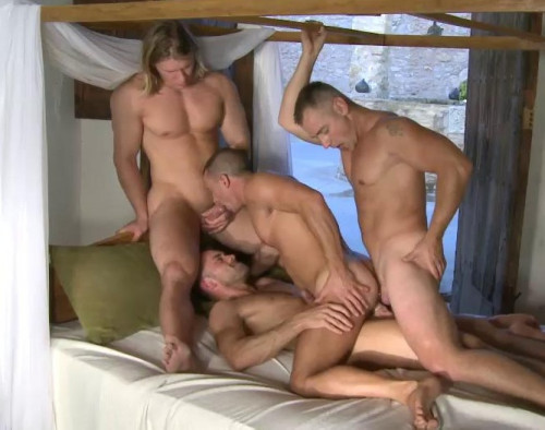 Mountain Orgy With Hot Males Gay Movie