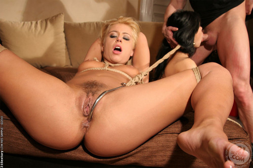 Two Sexy Hotties – Tied And Fucked