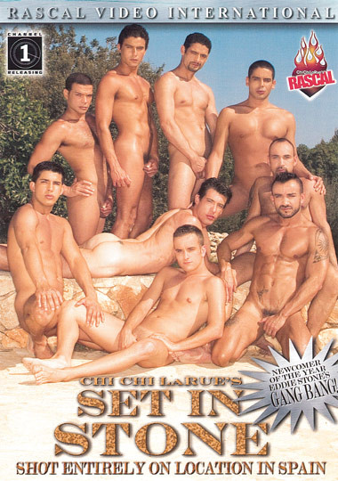 Set In Stone (Papilicious Latino Gangbang) - Eddie Stone, Lucas Foz, Rafael Carreras