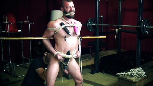 Fetish  - All Tied Up, Part 1 - Donnie Argento, RopeTrainKeep