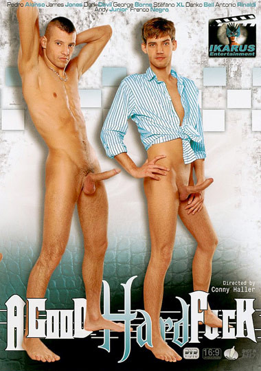 A Good Hard Fuck Bareback - Andy Junior, James Jones, George Borne