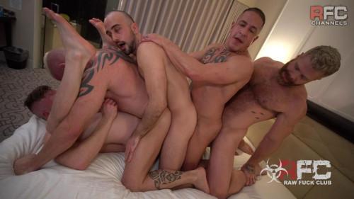 Raw Fuck Club - Gay Marriage Orgy Part 2
