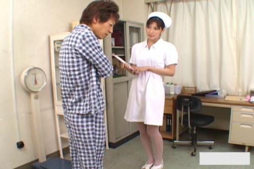 Nurse And The Patients Dick -  Riko Tachibana
