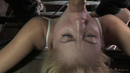 Bound, vibrated and throat blasted!