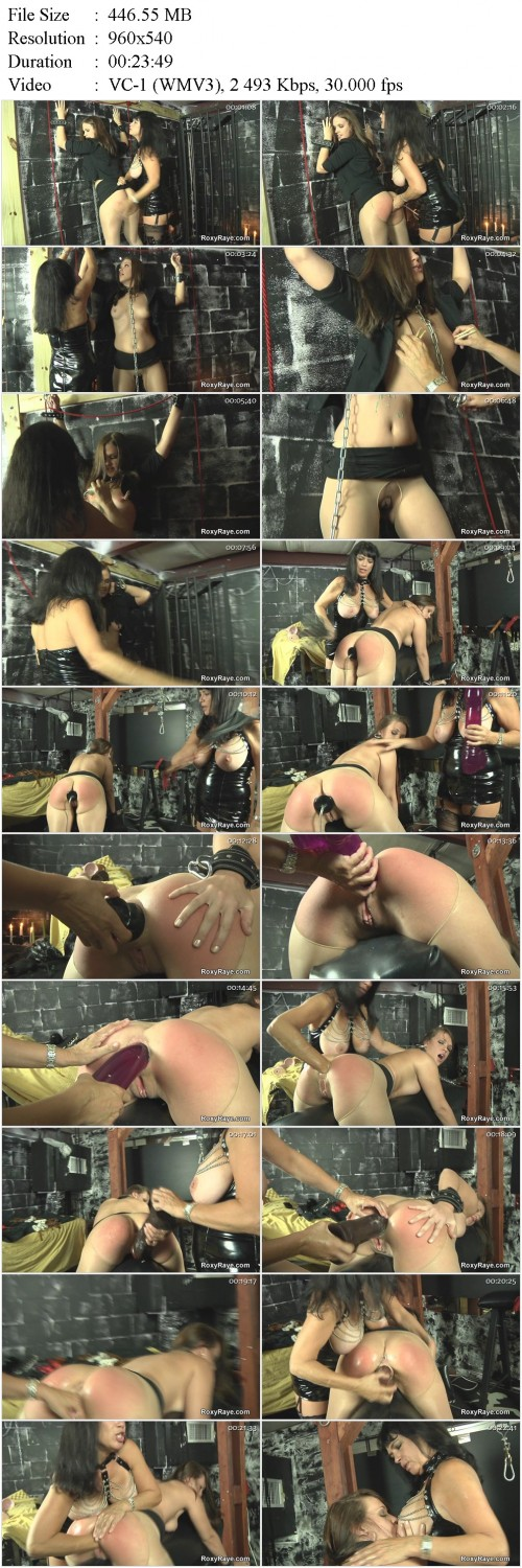 Roxy Raye - Roxy Gets Dominated