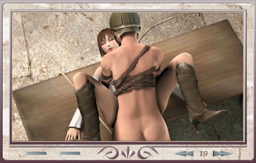 Captured woman swordsman Porn games
