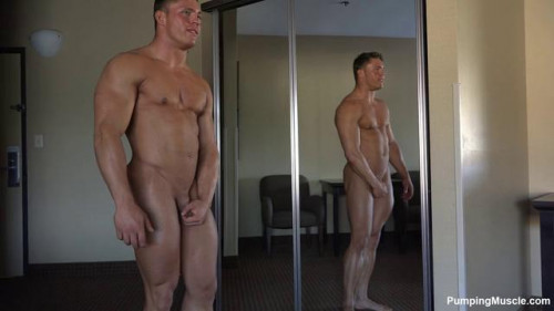 Pumping Muscle - Michael D Photoshoots Parts 1-3 Gay Unusual