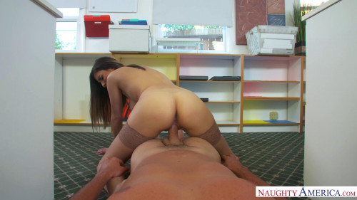 Nina North, Ryan Driller - Naughty Office Amateur Porn