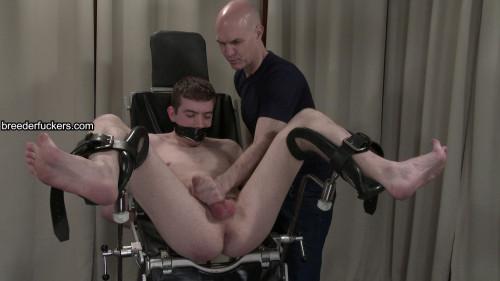 David - Gagged, penis manipulated untill vertical, weenie fastened