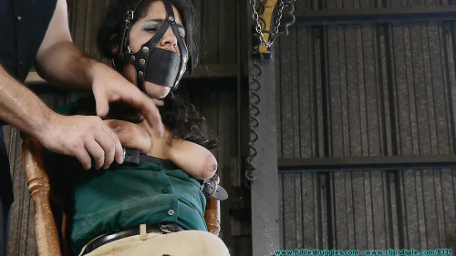 Ellen Equestrian to PonyGirl - Leather 4 part
