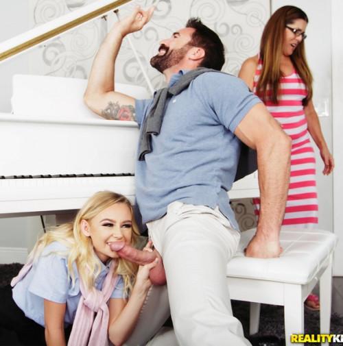 Charles Dera, Kenzie Kai - Sneaky Piano Slut FullHD 1080p Teen Porn