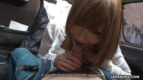 Miyashita is a gorgeous girlfriend who loves sex