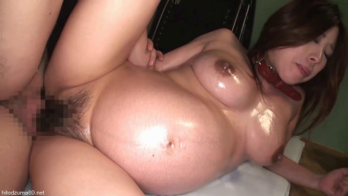 Blobbing Belly Pregnant Woman