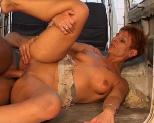 Redhead cougar slut alert Old and Young