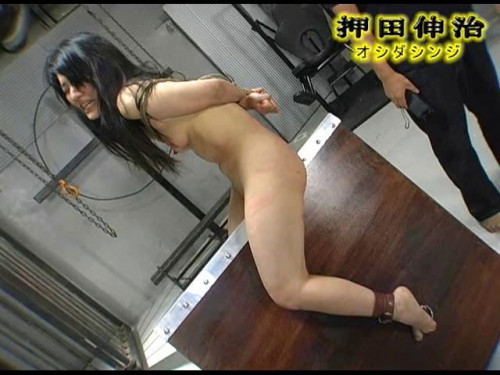 Brutal Wooden Riding Asians BDSM