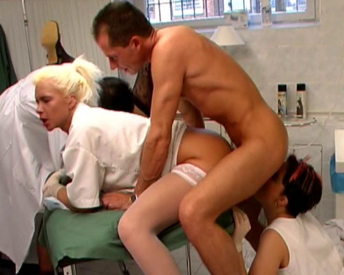 Orgy in the hospital