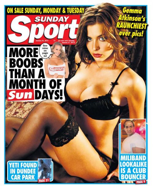 Sunday Sport Porn Magazines