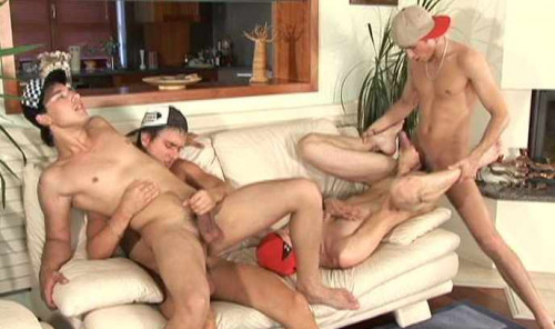 Euro group sex