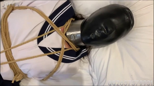 Tight restraint bondage, spanking and castigation for concupiscent slut