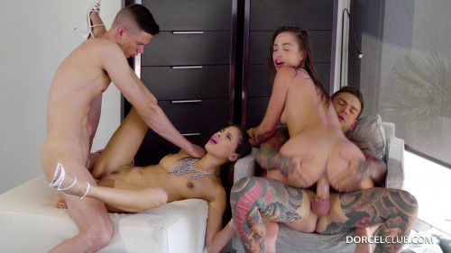 Baby Nicols, Anastasia Brokelyn - Debauched Youth FullHD 1080p Orgies