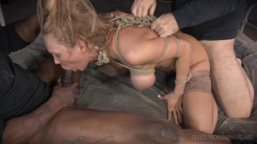 Tattooed slut Rain DeGrey completely conquered by cock, massive squirting orgasms and deepthroat