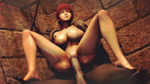 Kasumi the slave off Hell - pt 3 3D Porn