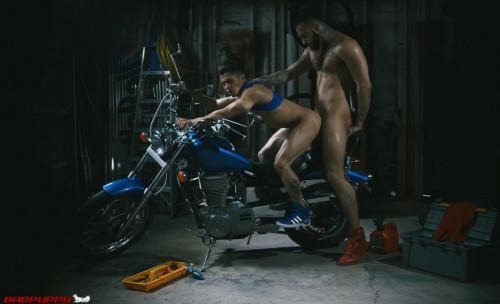 Armond likes brutal bikers