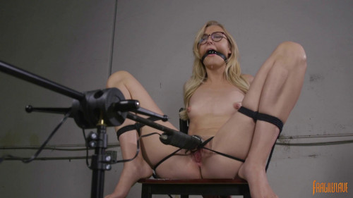 Sexy Blonde Librarian BDSM