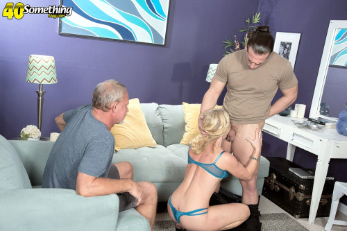 Cuckold to the ass-fucked wife Public Sex