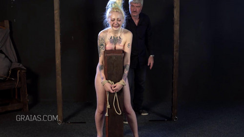 Blond Slave Dominated By Dr. Lomp