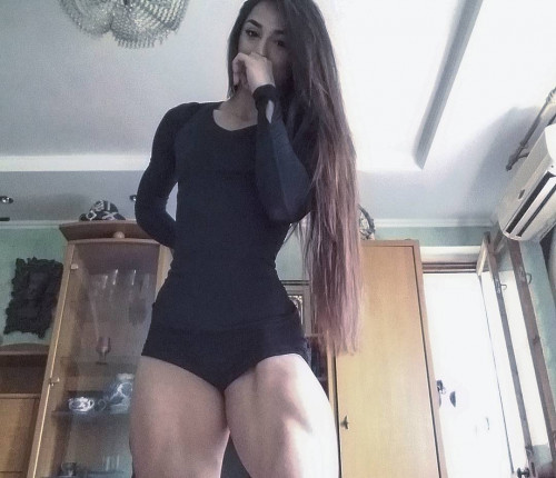 Lady sport aka Bakhar Nabieva Videos Female Muscle