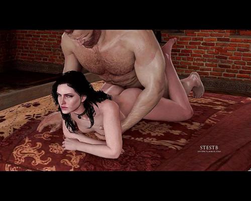 Yennefer 3D Porno