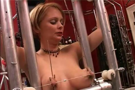 Extreme with tits and nipples blonde (2014)
