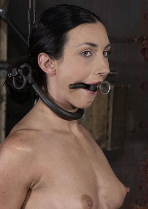 Pretty girl shot in BDSM
