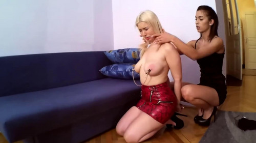 Bondage, spanking and domination for 2 hawt whores Full HD 1080p