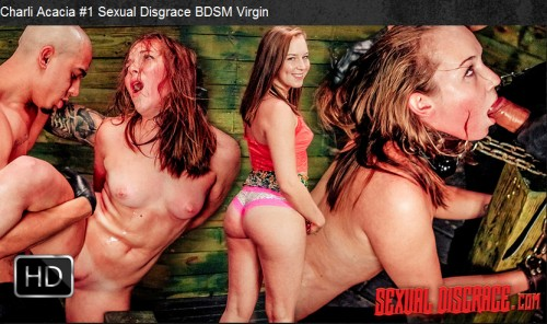 Sexualdisgrace - Mar 23, 2016 - Charli Acacia #1 Sexual Disgrace BDSM Virgin